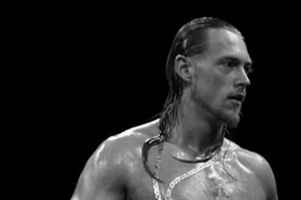 Big Cass in the ring